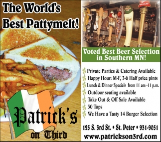 The World's Best Pattymelt!