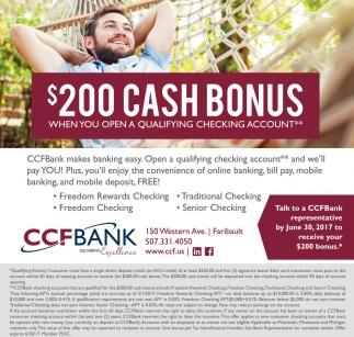 $200 Cash Bonus