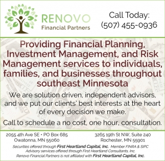 Financial Planning, Investment Management, and Risk Management