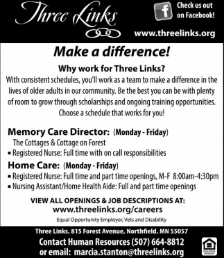 Memory Care Director / Home Care