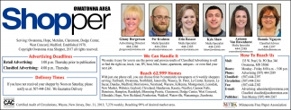 Ads For Owatonna Area Shopper in Southern Minn