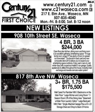 Captivating New Listing, Century 21, Waseca, MN