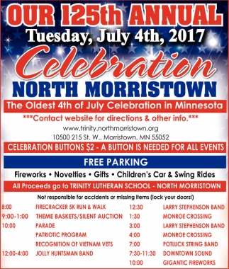 Our 125th Annual July 4th 2017