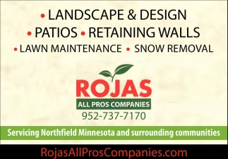 Landscape & Design, Rojas All Pros Companies, Northfield, MN