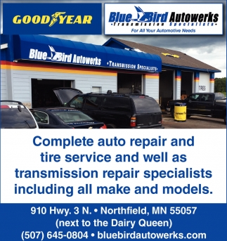 Complete auto repair and tire service, Blue Bird Autowerks