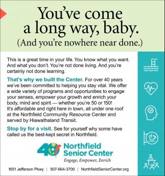 You Ve Come A Long Way Baby Northfield Senior Center