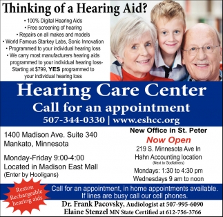 Thinking of a Hearing Aid?