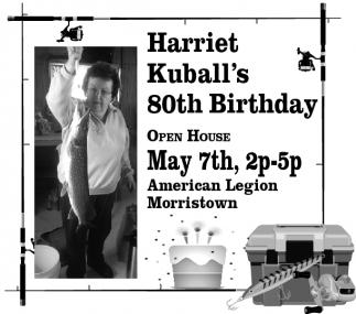 Harriet Kuball's 80th Birthday