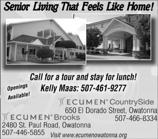 Senior Living That Feels Like Home