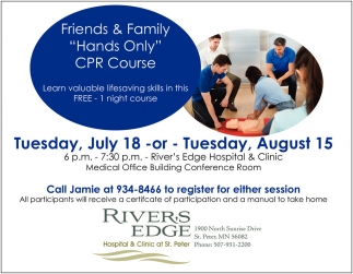 Friends & Family Hands Only CPR Course