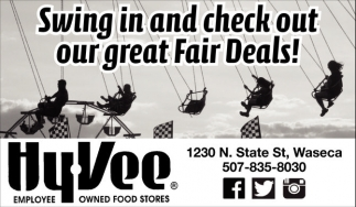 Swing in and check out our great Fair Deals!