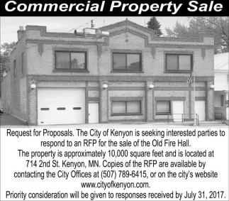 Commercial Property Sale