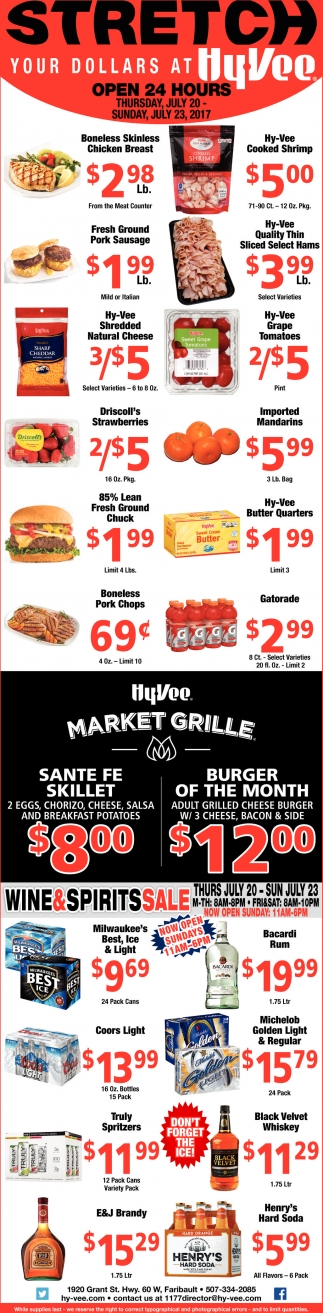Stretch your dollars at Hy-Vee