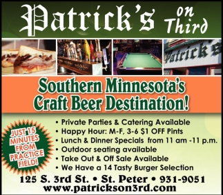 Southern Minnesota's Craft Beer Destination!