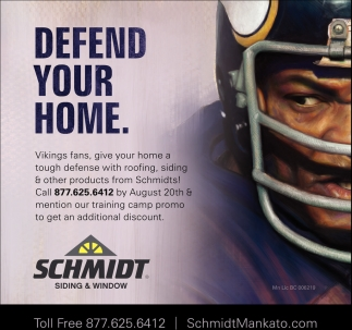 Defend your home