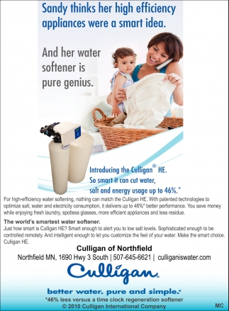 Culligan HE, Culligan, Northfield, MN