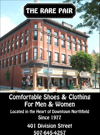 Comfortable Shoes & Clothing for Men & Women, The Rare Pair, Northfield, MN