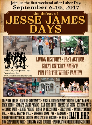 Jesse James Days, Defeat of Jesse James Days Committee, Inc, Northfield, MN