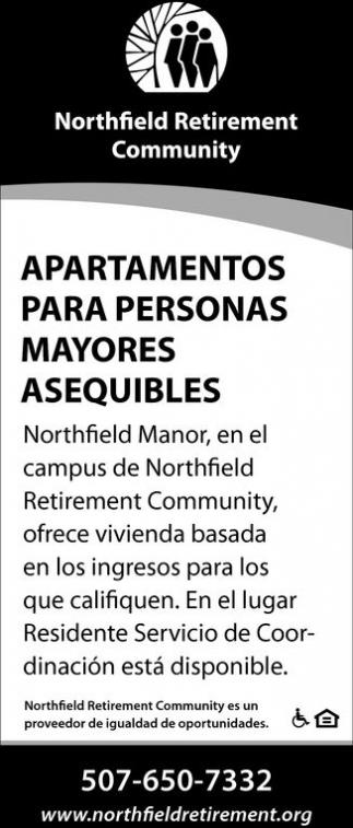 Apartamentos para personas mayores asequibles
