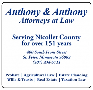 Wills/Trusts, Probate, Estate Planning, Tax Preparation, Real Estate