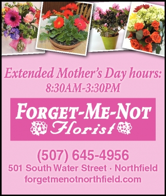 Extended Mother's Day hours
