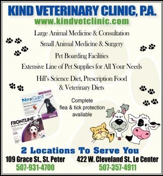 Companion and Farm Animal Services