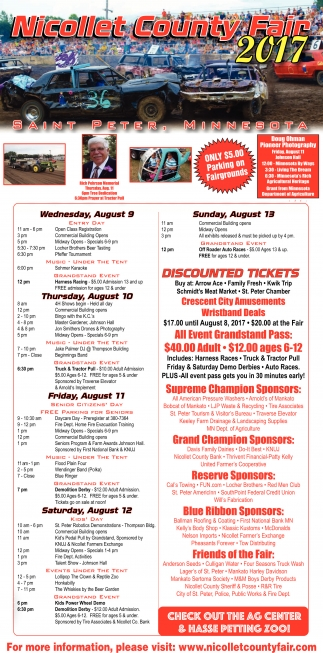 Nicollet County Fair 2017