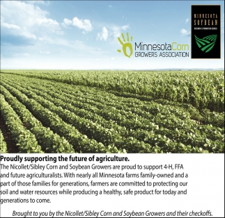 Proudly supporting the future of agriculture
