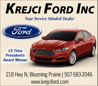 Your Service Munded Dealer, Krejci Ford Inc