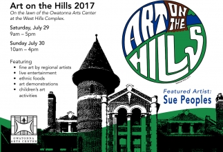 Art on the Hills 2017, Owatonna Arts Center, Owatonna, MN