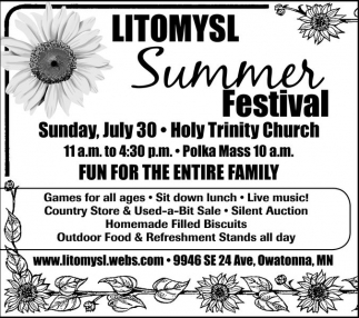 Fun for the entire family, Litomysl Summer Festival
