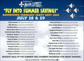 Fly Into Summer Savings