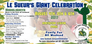 Le Sueur's Giant Celebration