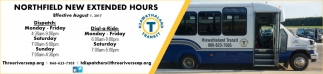 Northfield New Extended Hours, Hiawathaland Transit, Plainview, MN