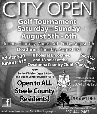 City Open Golf Tournament
