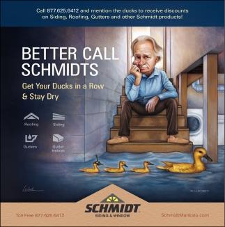 Better Call Schmidt
