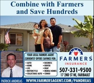 Combine with Farmers and Sav Hundreds