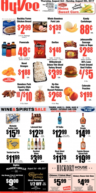 Wine & Spirits Sale
