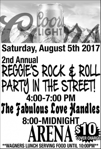 2nd Annual Reggie's Rock & Roll Party in the Street!