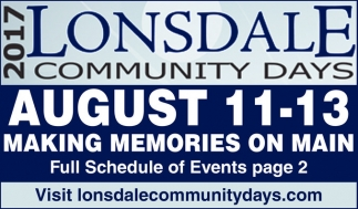 Making Memories on Main, Lonsdale Community Days, Lonsdale, MN