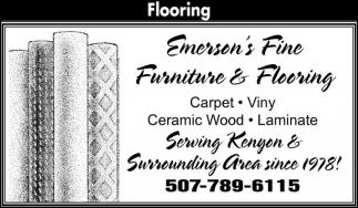 Carpet, Vinyl, Caremic Wood, Laminate