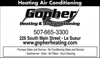 Heating Air Conditioning, Gopher Heating and Air Conditioning, Savage, MN