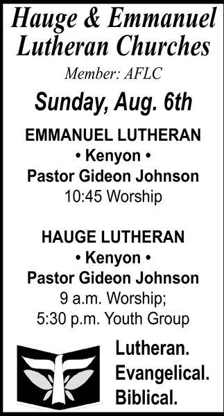 Hauge & Emmanuel Lutheran Churches