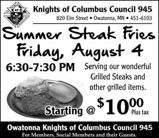 Summer Steak Fries