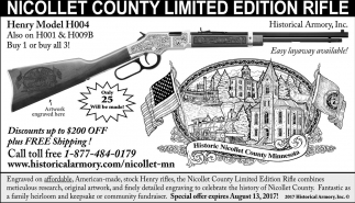 Nicollet County Limited Edition Rifle