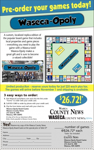 Waseca-Opoly