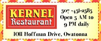 Kernel Restaurant