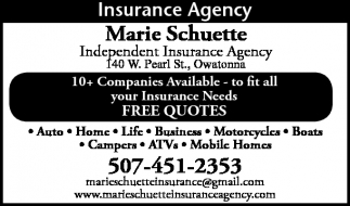 Finance Amp Insurance Ads In Southern Minn