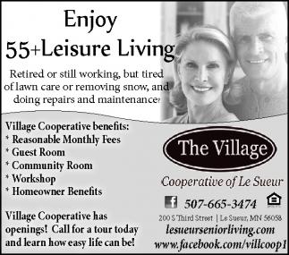 Enjoy 55+ Leisure Living