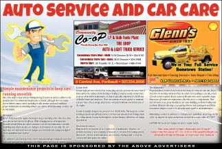 Auto Service and Car Care